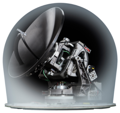 DataPath's new stabilized VSAT Maritime Antenna System